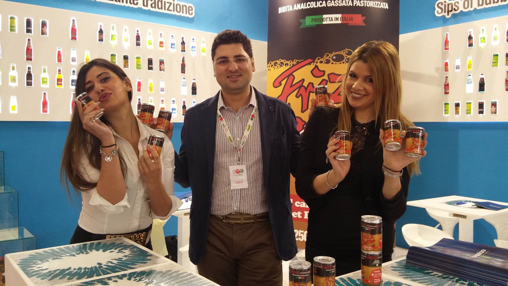 Carbonated soft drinks by Spadafora srl